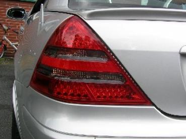 LED Rückleuchten rot klar für Mercedes SLK R170