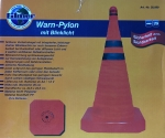 Warn-Pylon mit Blinklicht